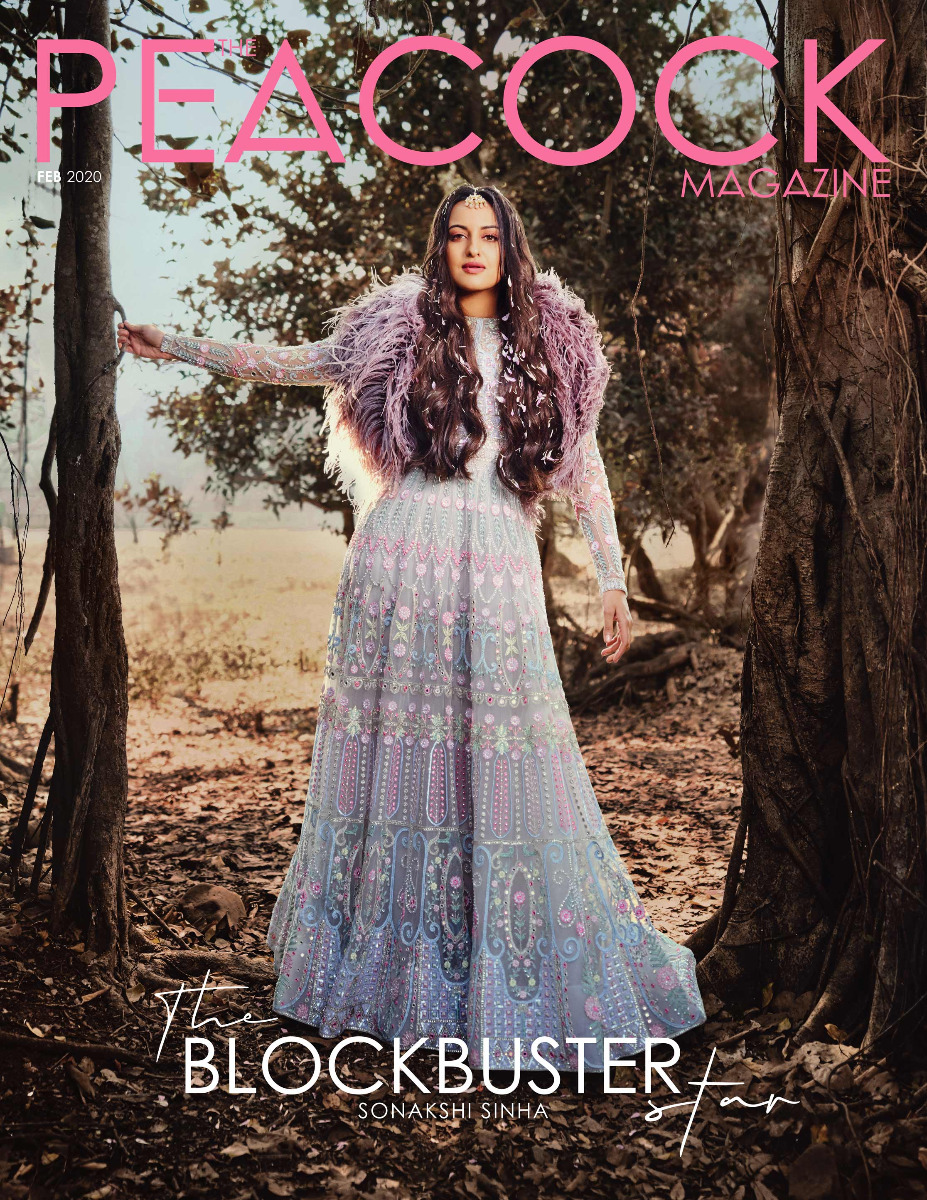 Sonakshi Sinha in Full Length Gown with High Neck and Full Sleeves
